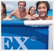 Intex Metal Frame Pool stevig frame