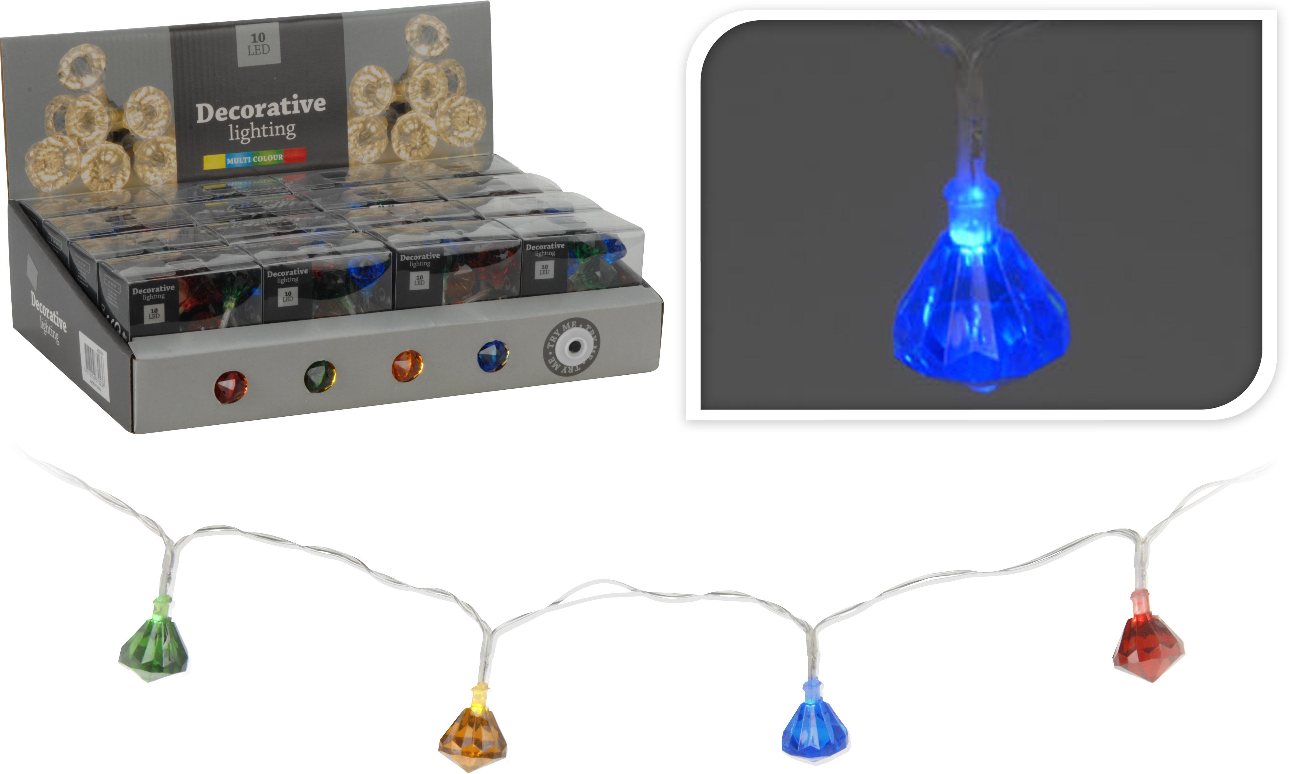 Imagen de 10 luces LED multicolor