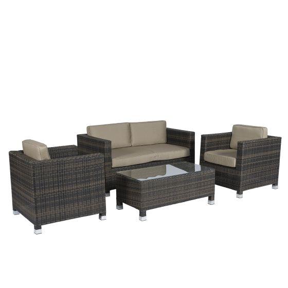 Conjunto-de-salón-de-mimbre-con-asientos-marrones-