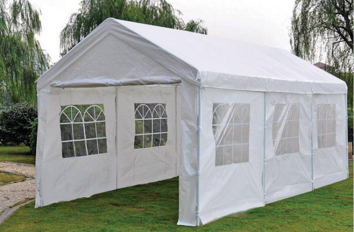 Lujosa-carpa-para-fiestas-de-3x6-metros-blanca-con-paredes-laterales-Pure-Garden-&-Living