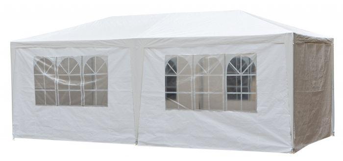 Carpa-para-fiestas-de-3x6-metros-blanca-con-paredes-laterales-Pure-Garden-&-Living