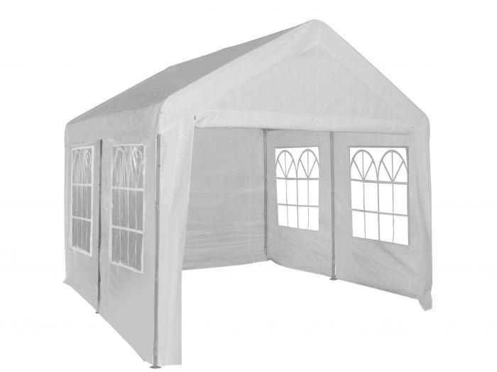 Carpa-para-fiestas-de-4x4-metros-blanca-con-paredes-laterales-Pure-Garden-&-Living