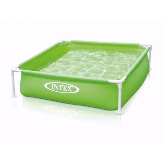 INTEX™-Mini-Frame-Pool---Piscina-infantil-verde-(122-x-122-cm)
