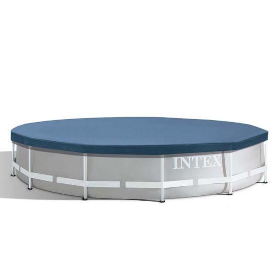 Cubierta-de-lona-INTEX™---Piscina-Metal-Frame---Ø-366-cm