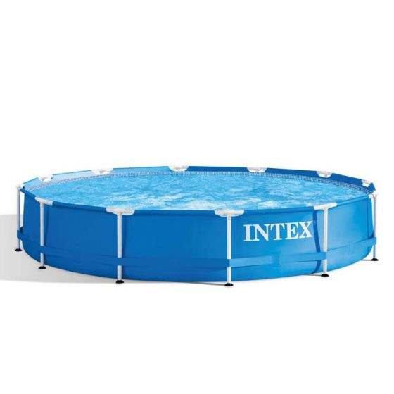 Piscina-INTEX™-Metal-Frame---Ø-366cm