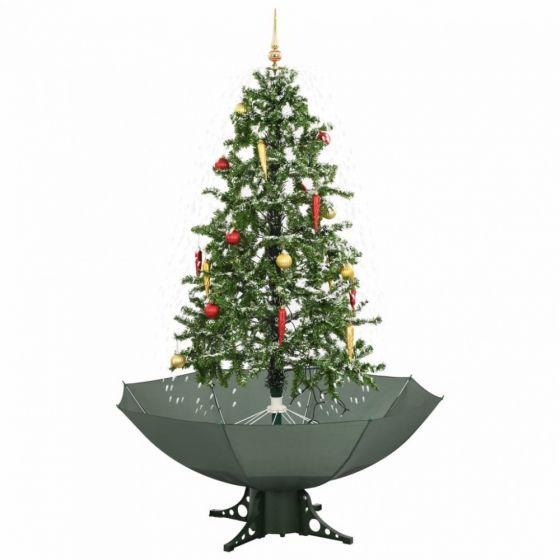 Árbol-de-Navidad-nevando-verde---170cm