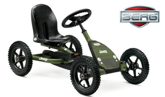 Coche-de-pedales-BERG-Jeep-Junior