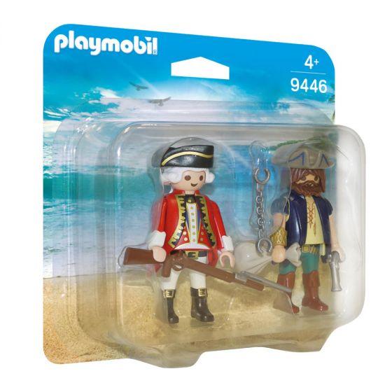 Playmobil,-duo-pack-pirata-y-soldado