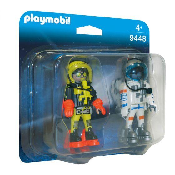 Playmobil,-duo-pack-astronautas