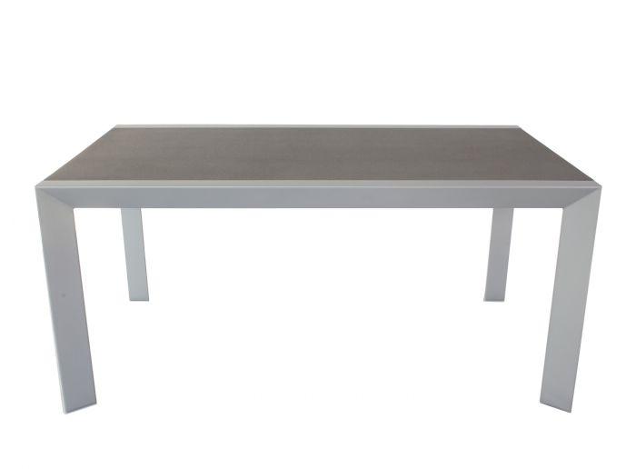 Mesa-de-jardín-gris/antracita-160x90-cm