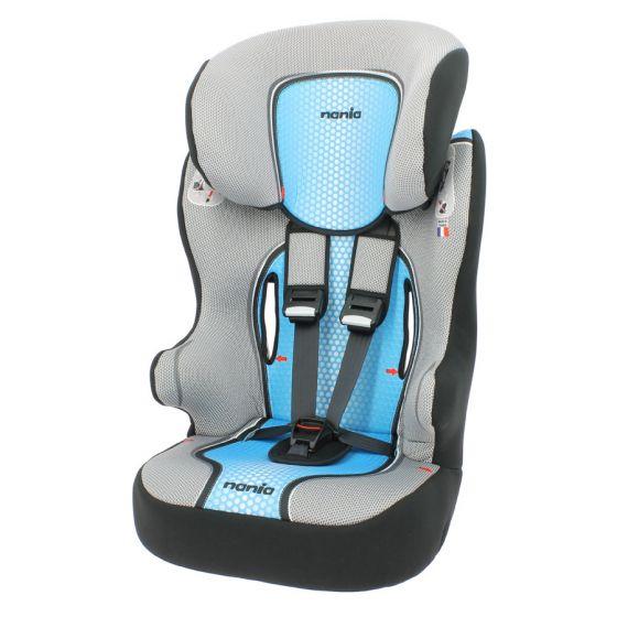 Silla-de-coche-Nania-First-Racer-Pop-Azul-1/2/3