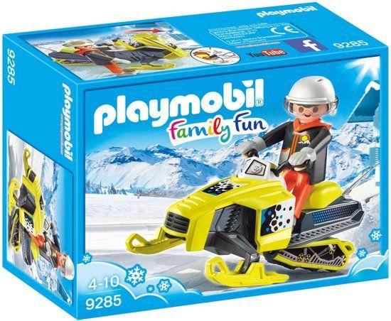 Playmobil-Family-Fun-9285,-moto-de-nieve