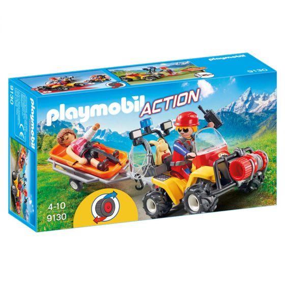 Playmobil,-quad-de-rescate-con-camilla