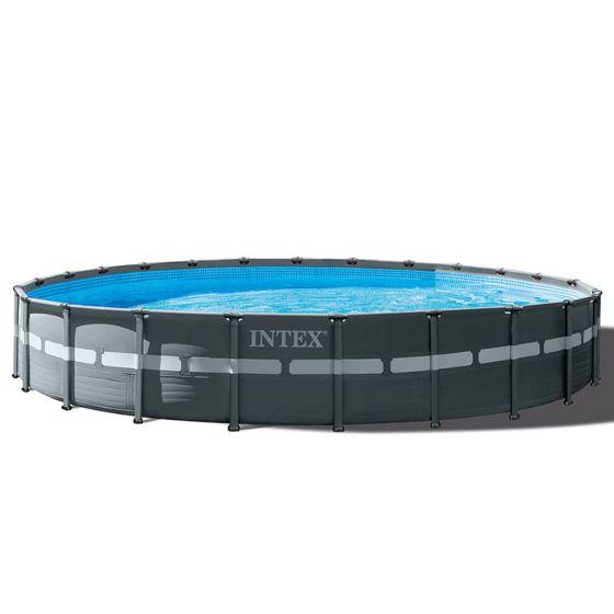 Piscina-INTEX™-Ultra-XTR-Frame---Ø-732cm-(el-conjunto-incluye-bomba-de-filtro-de-arena)