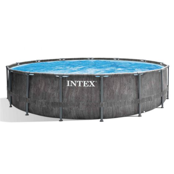 Intex-Prisma-Frame-Greywood-Premium-Pool---Ø-457-x-122-cm