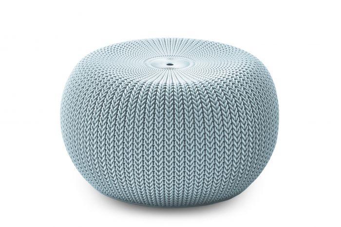 Puf-/-taburete-Keter-Cozy-Seat-azul