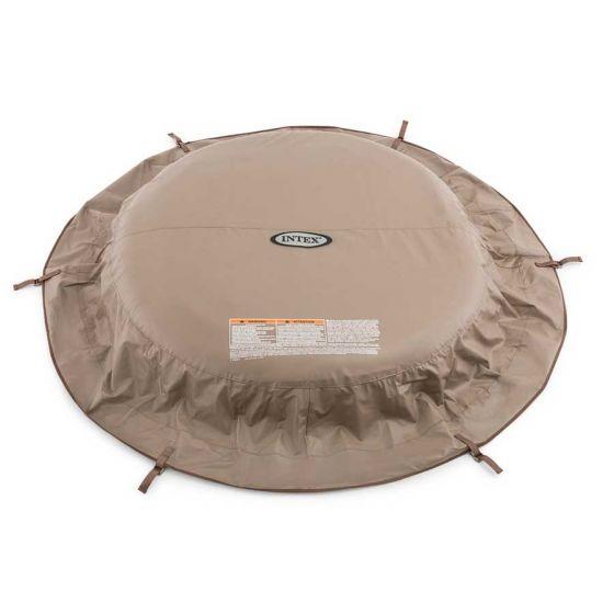 Cubierta-de-protección-Intex-PureSpa-beige---spa-4pers