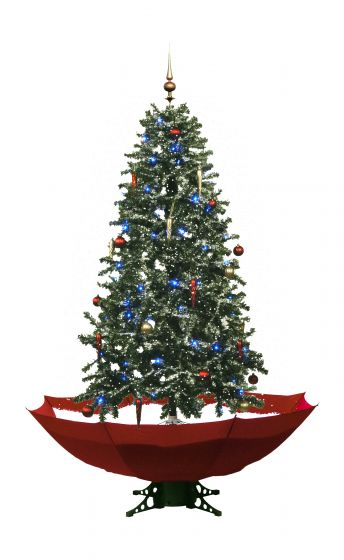 Árbol-de-Navidad-nevando-rojo-170cm