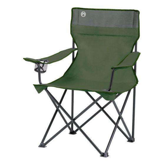 Silla-plegable-estándar-Coleman-Quad-verde