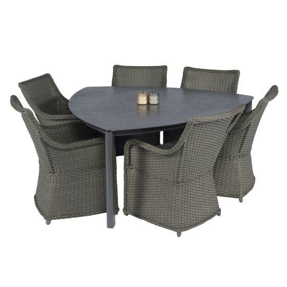 Mesa-de-jardín-Elegant-160x160x160-cm-Spraystone