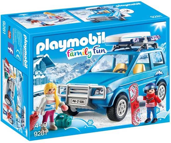 Playmobil-Family-Fun-9281,-4x4-con-portaequipajes
