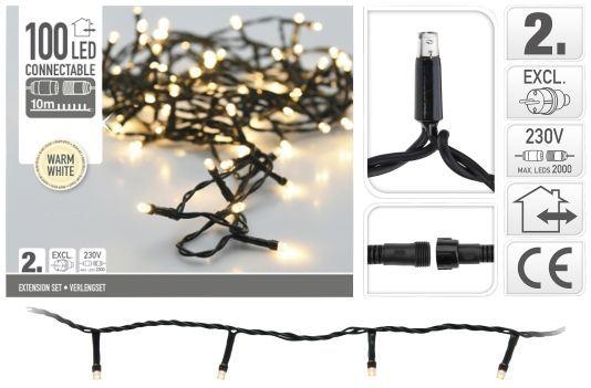 Luces-de-Navidad-ampliación-100-LED-blanco-cálido