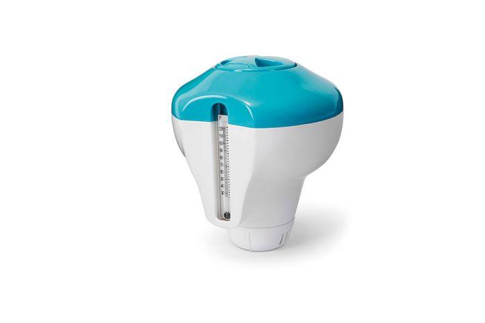Dispensador-de-cloro-y-termómetro-INTEX™