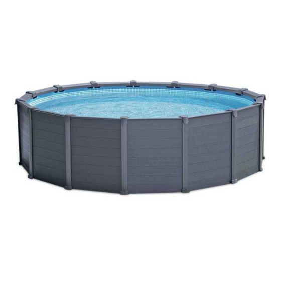 Piscina-Intex-Graphite-Panel-Ø-478 cm-(conjunto)