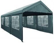 Lujosa-carpa-para-fiestas-de-3x6-metros-gris-con-paredes-laterales-Pure-Garden-&-Living