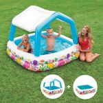 INTEX™-Sun-Shade---Piscina-infantil-con-techo-desmontable-(157-x-157-cm)