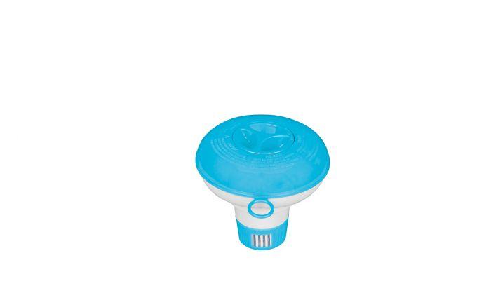 INTEX™-dispensador-químico-flotante-pequeño-(Ø-12,7-cm)