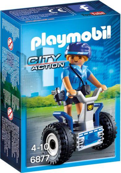 Playmobil-6877,-policía-con-Balance-Racer