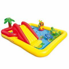 INTEX™-Ocean-Play-Center---Piscina-infantil-zona-multijuegos-(254-x-196-cm)