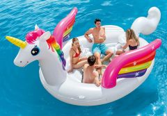 INTEX™-Ride-on-Unicorn-Party-Island