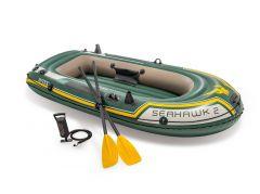 INTEX™-Barca-hinchable---Seahawk-2-Set-(incluye-remos-y-bomba)