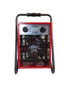 Estufa industrial con ventilador 5000W