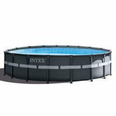 Piscina INTEX™ Ultra XTR Frame - Ø 549cm (el conjunto incluye bomba de filtro de arena)