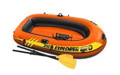 Barca hinchable INTEX™ Explorer Pro 200 (bomba y remos incluidos)