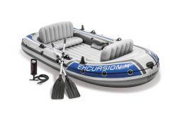 Barca hinchable Intex - Set Excursion 4