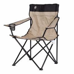 Silla-plegable-estándar-Coleman-Quad-caqui