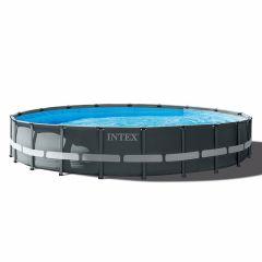 Piscina-INTEX™-Ultra-XTR-Frame---Ø-610cm-(el-conjunto-incluye-bomba-de-filtro-de-arena)