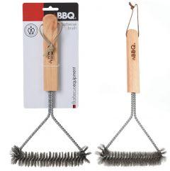 Cepillo Acero inoxidable 30 x 14 cm para barbacoa