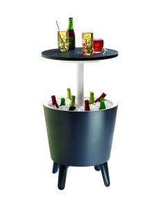 Keter-Cool-Bar,-mesita-auxiliar-y-nevera-portátil-en-1