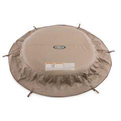 Cubierta de protección Intex PureSpa beige - spa 4pers