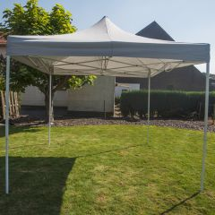 Lujosa carpa para fiestas easy up Pure Garden & Living de 3x3