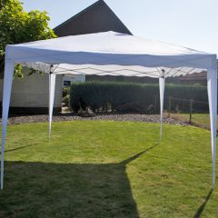 Carpa para fiestas easy up de 3x3 metros blanca Pure Garden & Living