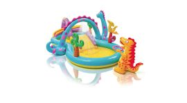 INTEX™-Dinoland-Play-Center---Piscina-infantil-zona-multijuegos-(333-x-229-cm)