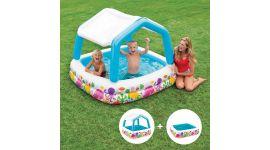 INTEX™-Sun-Shade---Piscina-infantil-con-techo-desmontable-(157-x-157-cm)
