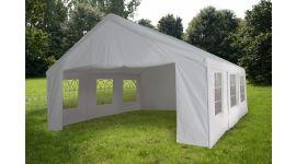 Carpa para fiestas de 5x5 metros blanca con paredes laterales Pure Garden & Living