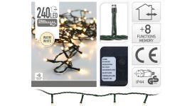 Iluminación-LED-240-luces-blanco-cálido